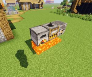 RedCraft - Lava furnace