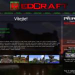 RedCraft - starý web